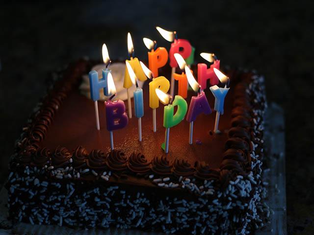 Happy Birthday Cake for a Friend